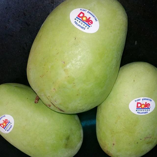 Carabao Mangoes (Manggang Kalabaw )