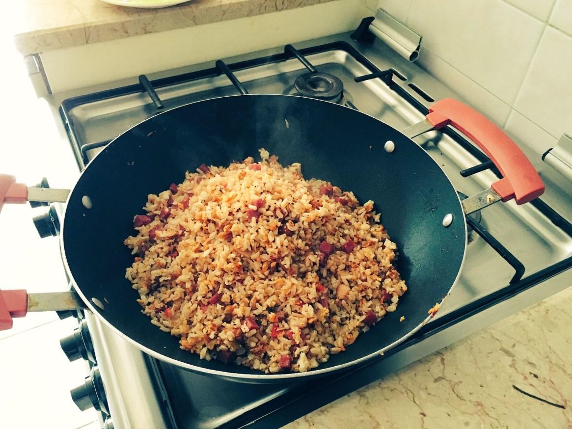 Chorizo and Fried Rice