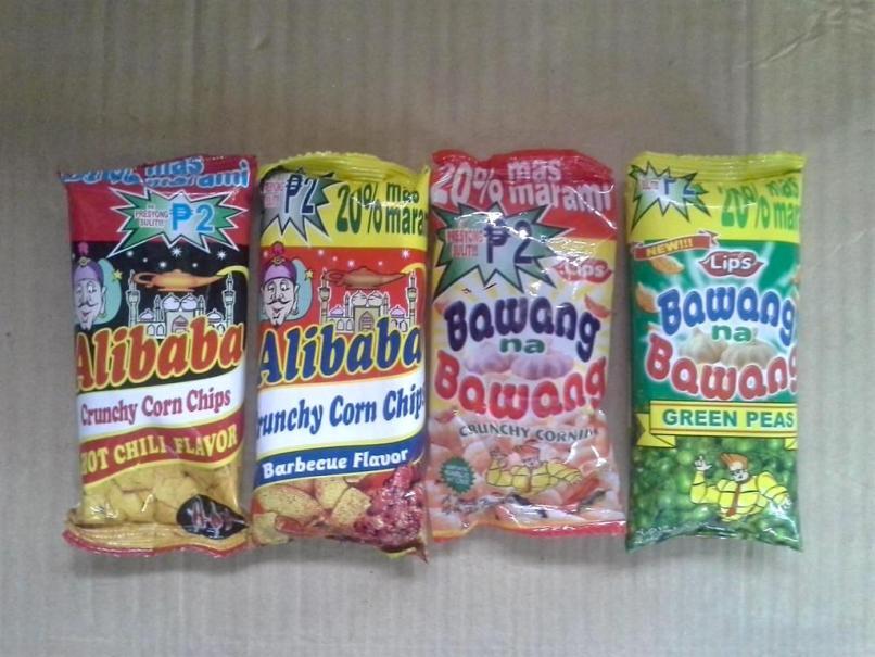 Cheap Two-Peso Snacks