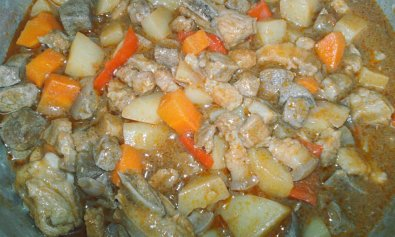 Filipino Menudo Dish