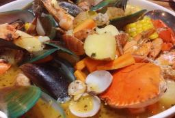 Fresh Filipino Seafood Bounty in one dish!
