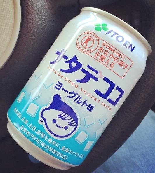 Ito En's Nata de Coco Yogurt Taste canned rink