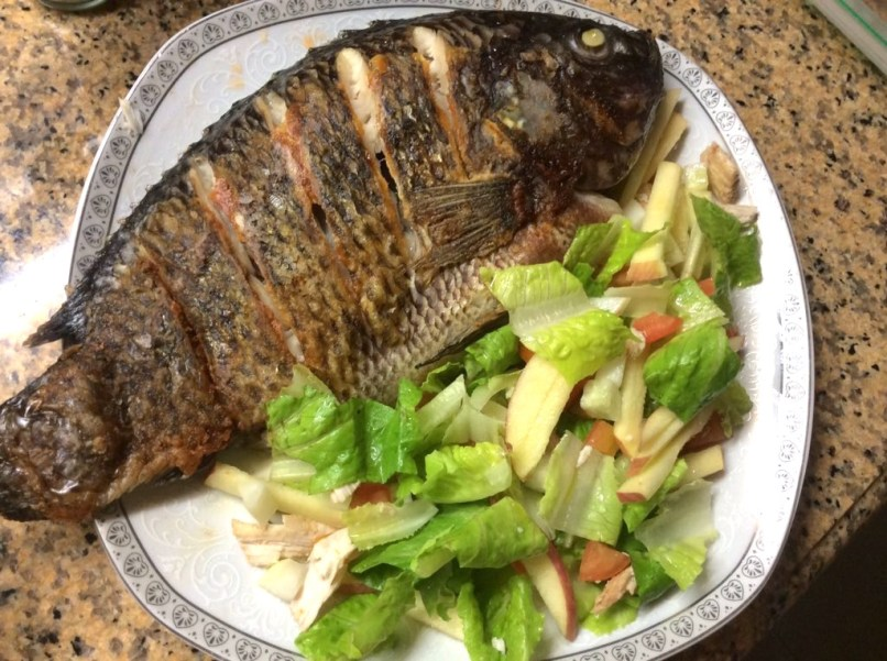 Pla-Pla: Big Tilapia Fish