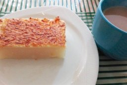 Cassava Cake and Coffee