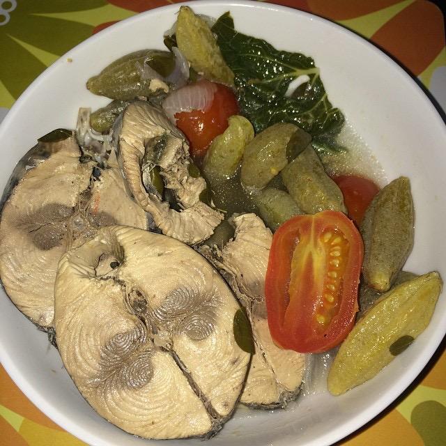 Filipino tunafish dish