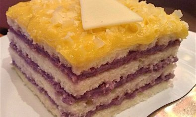 Ube Yema Cake from Patisserie Solaire