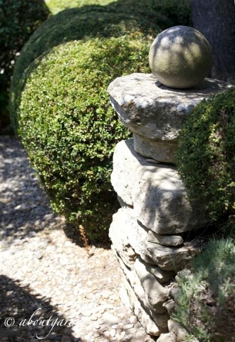 pietre jardin La Louve