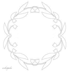 ghirlanda-paper-cut  maggio