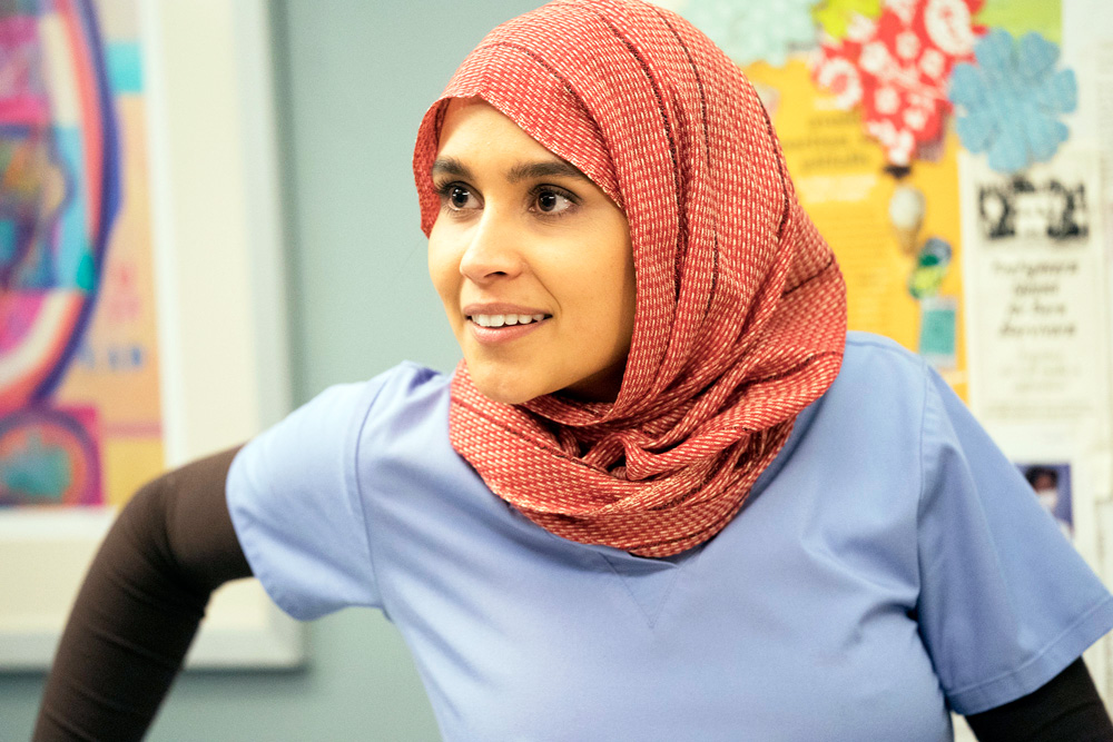 Jasmine |la voilée du voyou| {e.r}. A Muslim Character On Grey S Anatomy Took Off Her Hijab And Twitter Went Crazy About Her