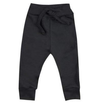 Wooden Buttons broekje met koord zwart