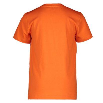 Moodstreet t-shirt orange red