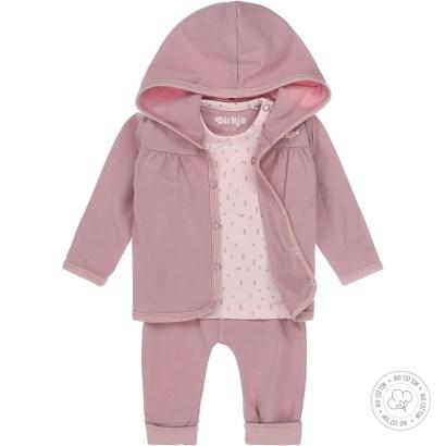 Dirkje 3-delig setje little dreamer light pink