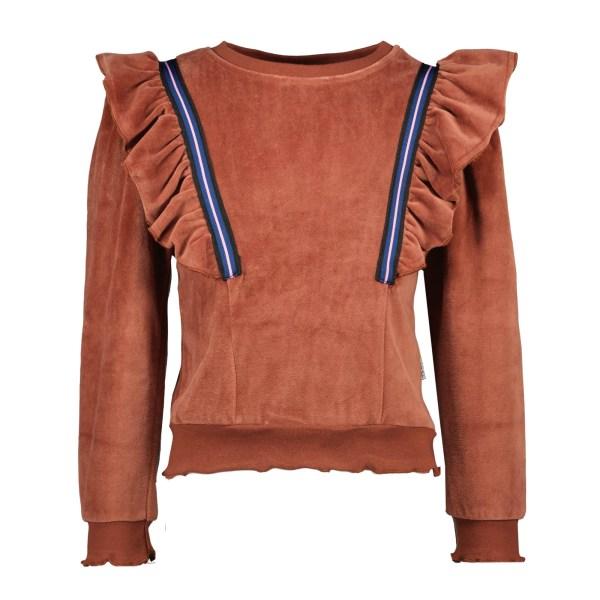 B.Nosy Velvet Sweater