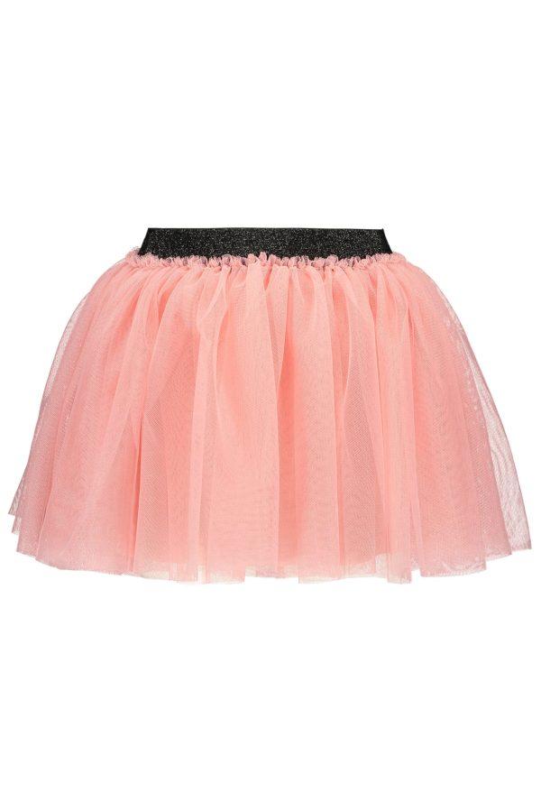 B.Nosy Solid Mesh Skirt