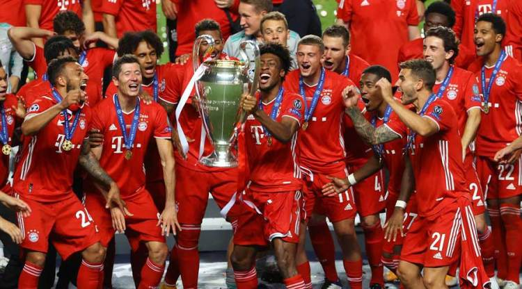 Coman the king for Champions League winners for Bayern ...