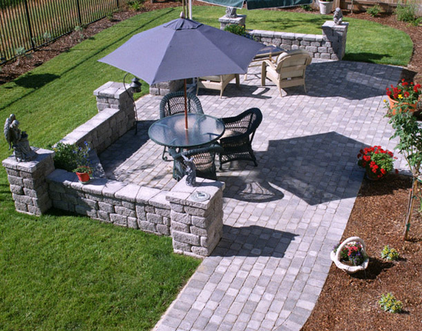 Types of Patio Material and Advantages - About Patio ... on Rock Patio Designs  id=69083