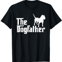 the dogfather pitbull t-shirt