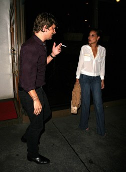 Rob Thomas and wife Marisol in West Hollywood