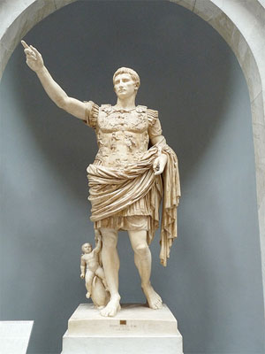 Famous People: Augustus Emperor