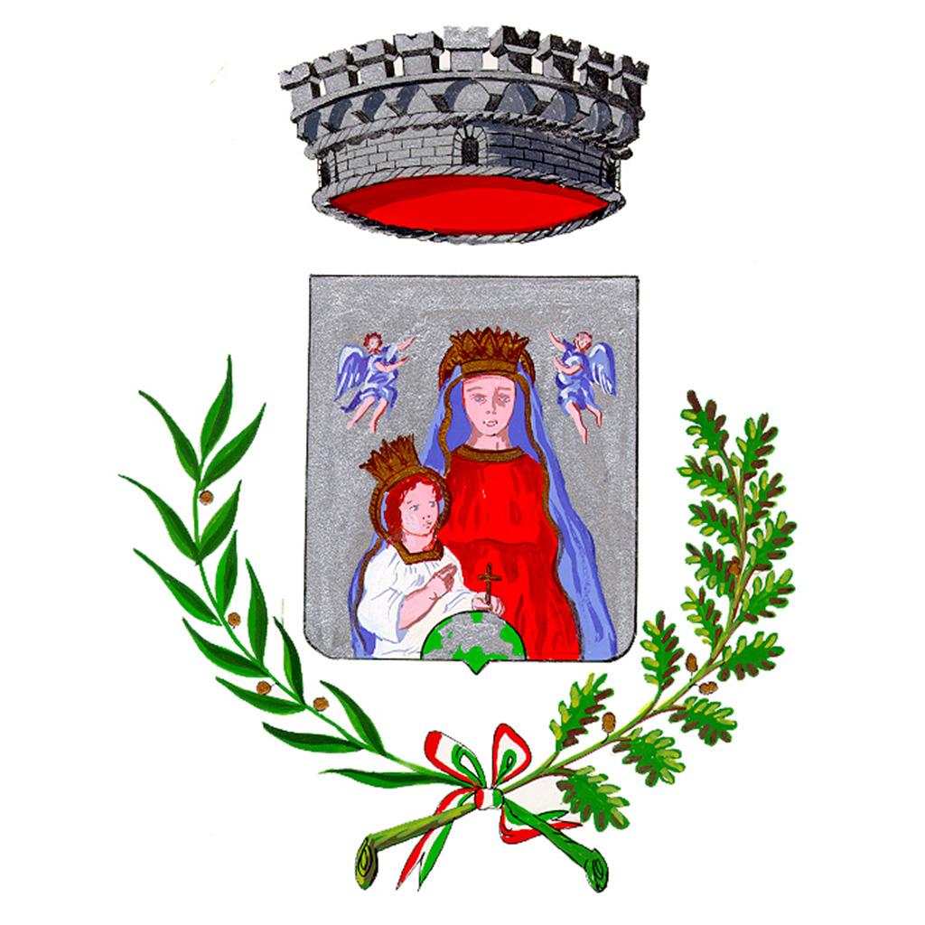 city emblem of the Municipality of Piano di Massa Lubrense