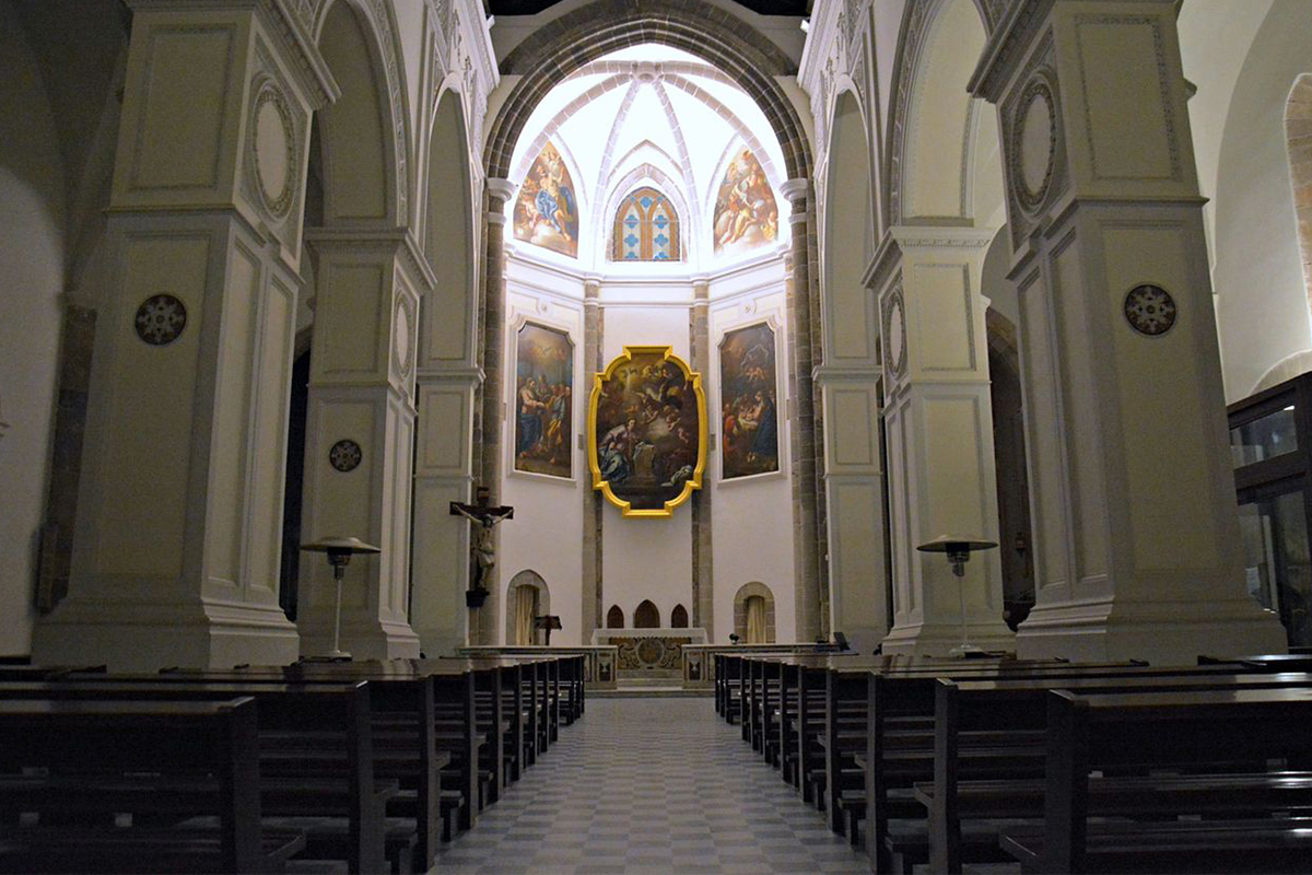 Church of SS Annunziata Interior