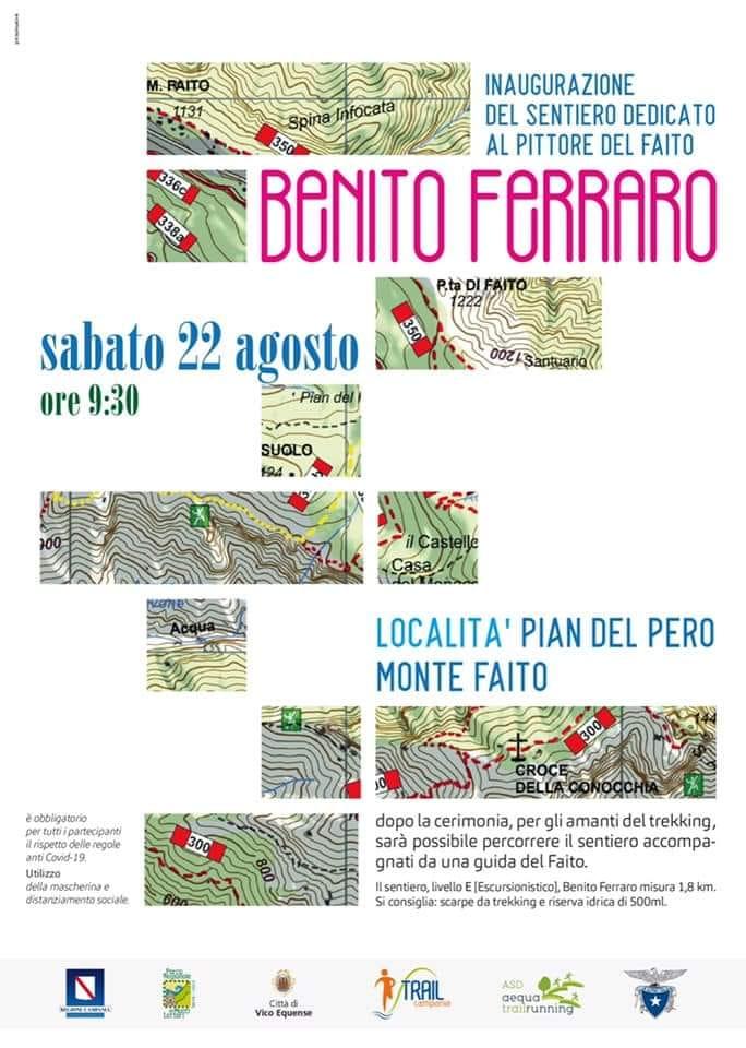 Sentiero dedicato a Benito Ferraro sul Monte Faito