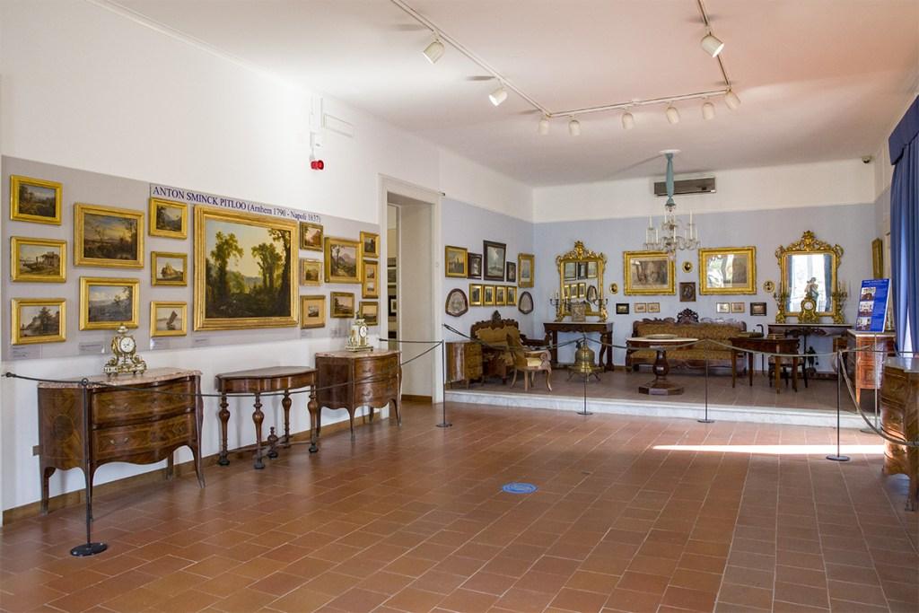 Museo Correale - Sala dedicata alla pittura seicentesca e settecentesca