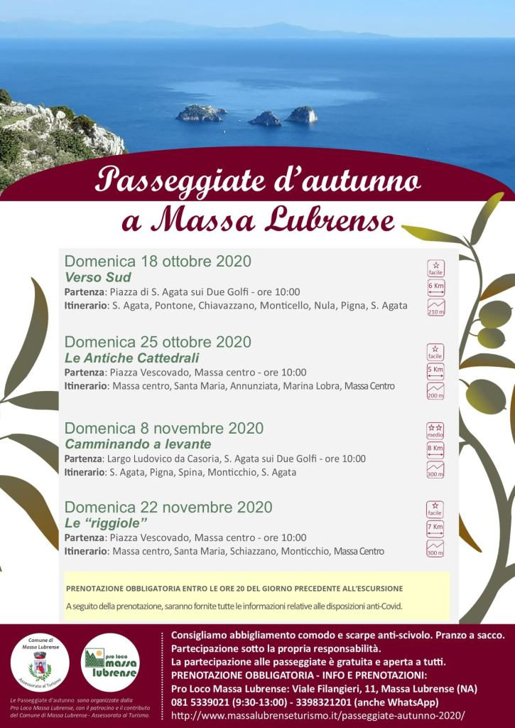 passeggiate d'autunno a Massa Lubrense About Sorrento