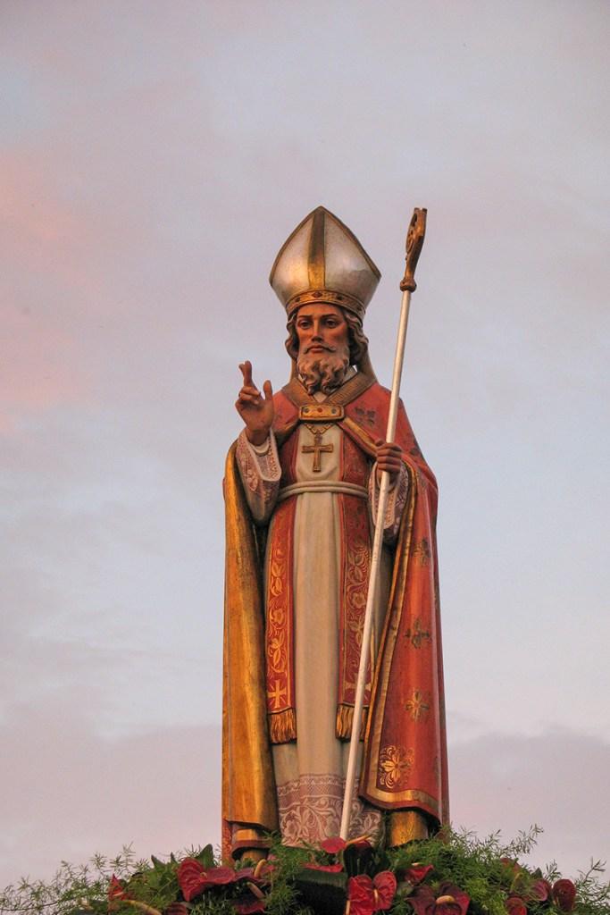 Statua San Biagio - Sorrento Casarlano