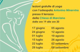 Eventi estate 2021 Yoga al tramonto