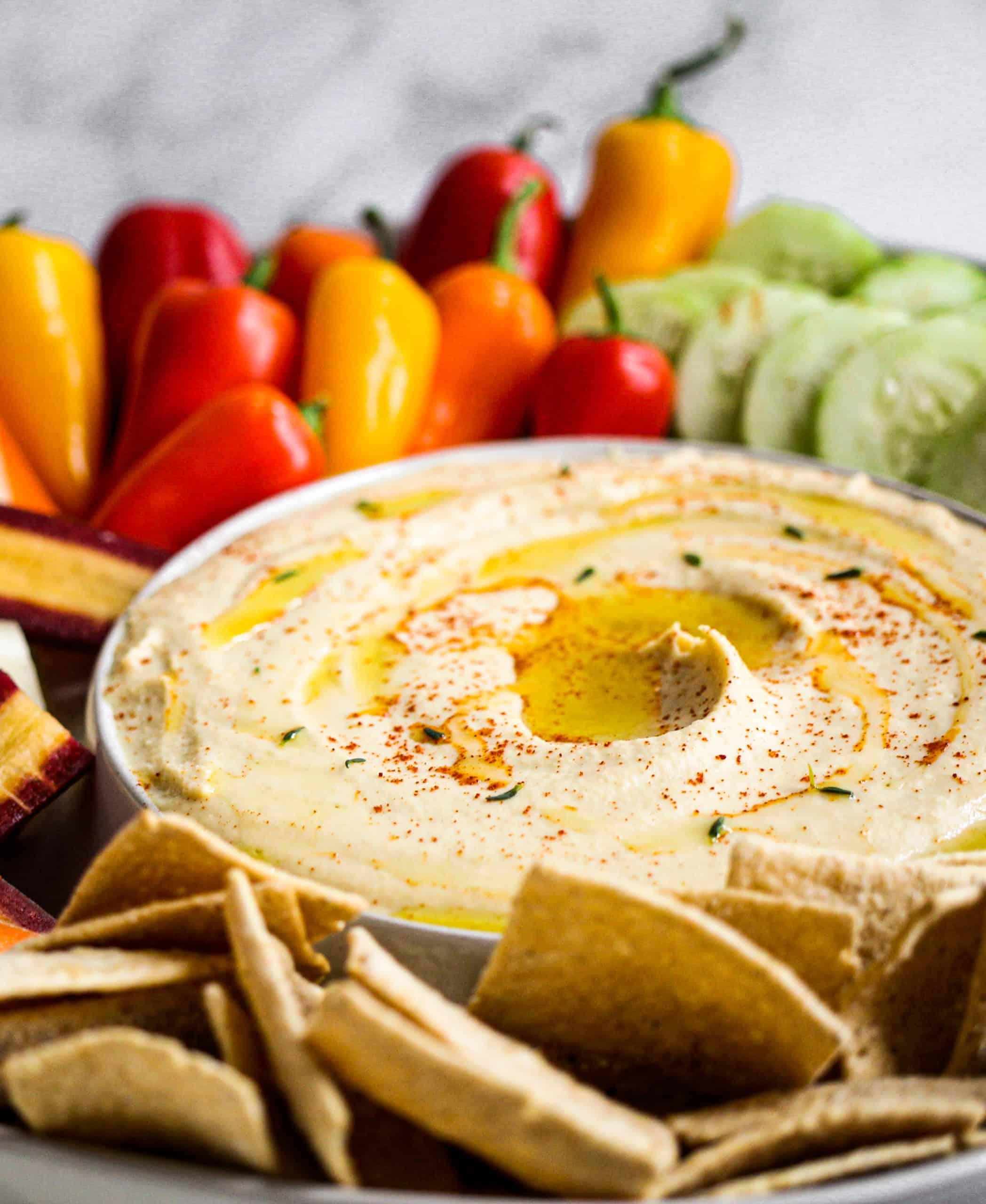 Creamiest Two-Bean Hummus