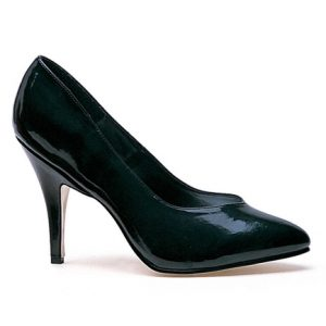 black casual pump