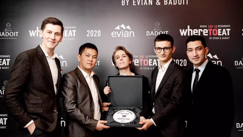 В Москве назовут лауреатов Национальной премии WhereToEat Russia 2021