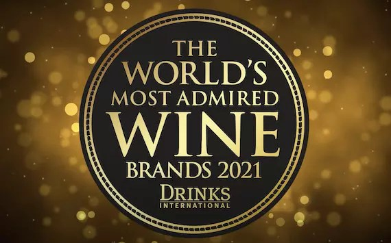 The World's Most Admired Wine Brands 2021 от Drinks International