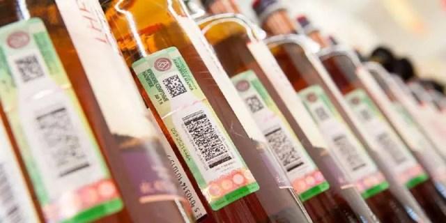 Минпромторг: обязательная маркировка крепкого алкоголя вводиться не будет