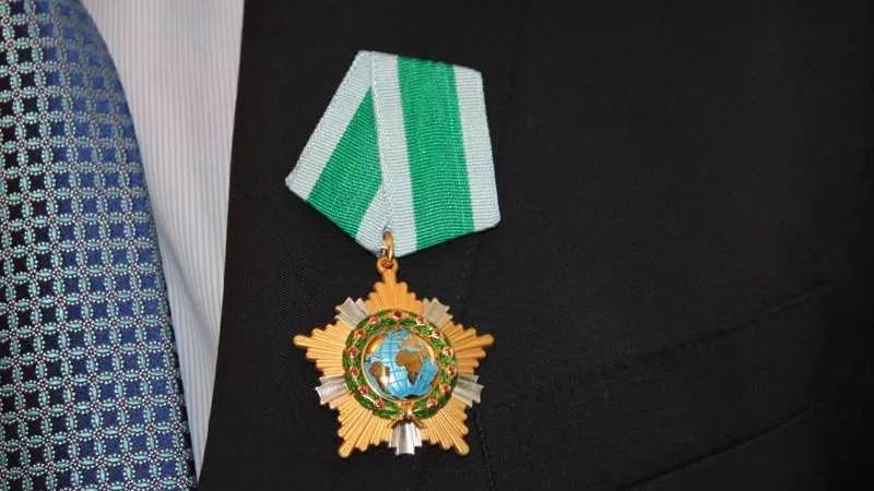 Орден Дружбы для директора винзавода