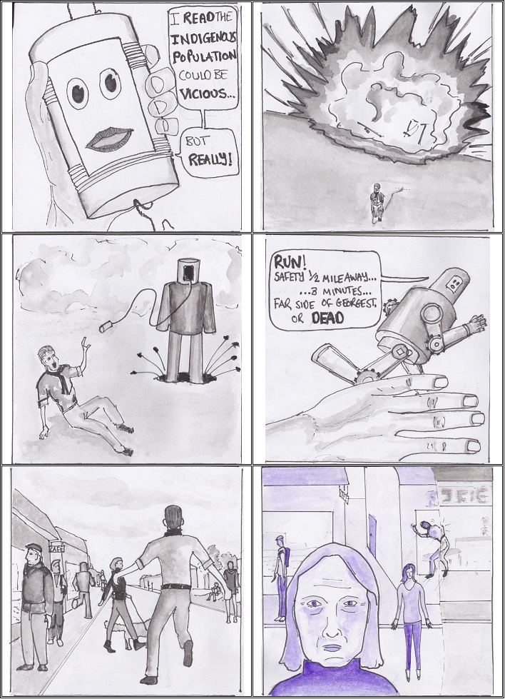 My first comic page 2