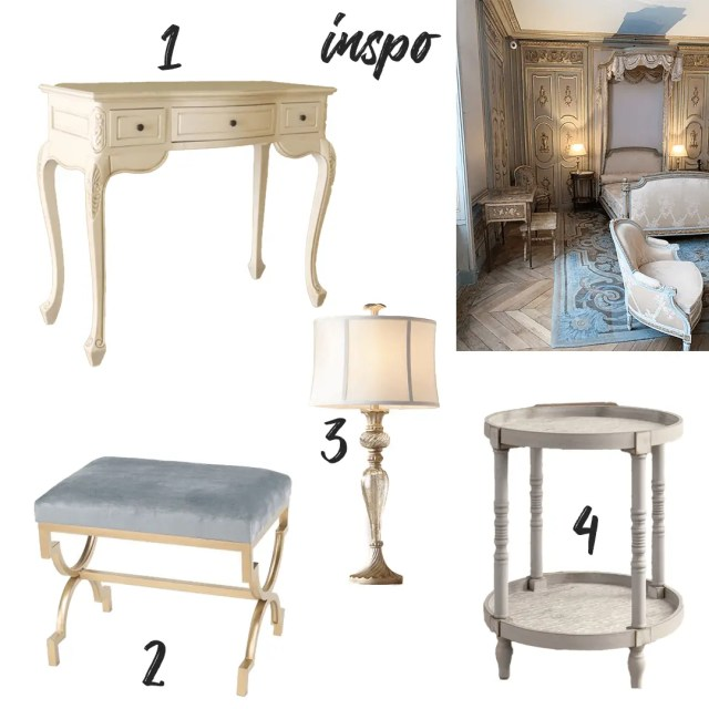 Parisian Inspired Bedroom Group 2