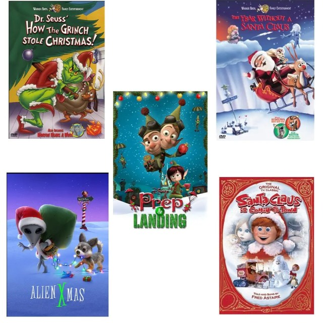 Holiday Movies - Animated TV Shows