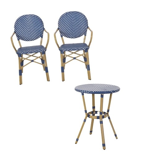 Outdoor Summer Bistro Table and Chairs