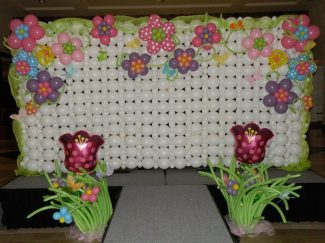Dazzling stage backdrops set the scene for fun
