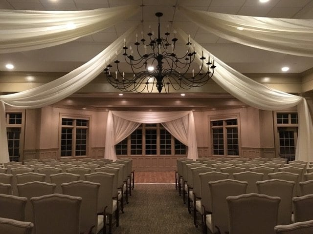 Luxurious Fabric Draping for Weddings | Above the Rest Event Designs