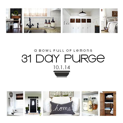 31 Day Purge