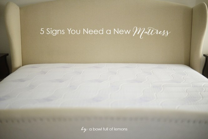 5 Signs You Need A New Mattress Via Bowl Full Of Lemons