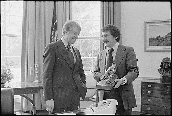 Image result for images of Tim Kraft with president Carter