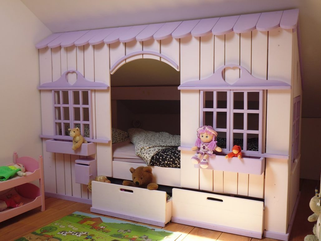 Lit Cabane Mini House Pour Fille Et Garon Abramacabane