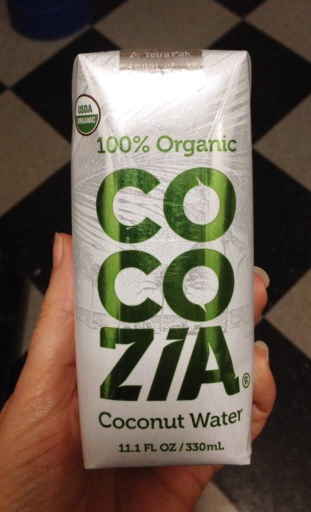cocozia organic coconut water