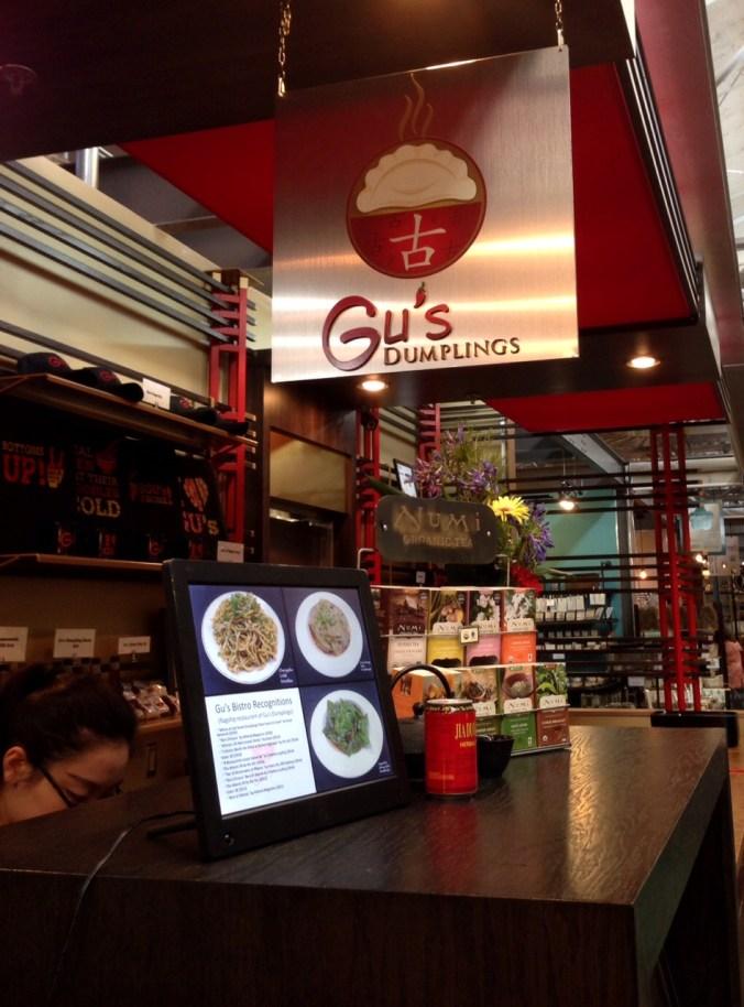 gu's bistro - home of vegan dumplings