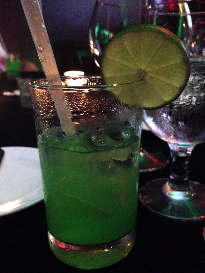electric green margarita