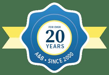 A&B 20 years